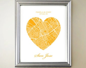 San Jose Heart Map