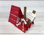 Carte d'anniversaire fait à la main de fête des pères - boîte à outils - carte bonne fête des pères - fabriquées à la main carte - fait main - carte pour papa - carte pour mari