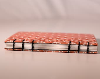 Small Handmade Journal with Coptic Stitch binding