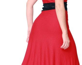 Naty Red Tango Dress