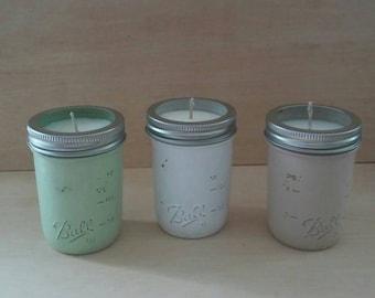 Mason Jar Soy Candle