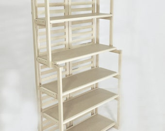 Bakers Rack - 6 Shelves - Ships UPS - No Tools Needed For Assembly!