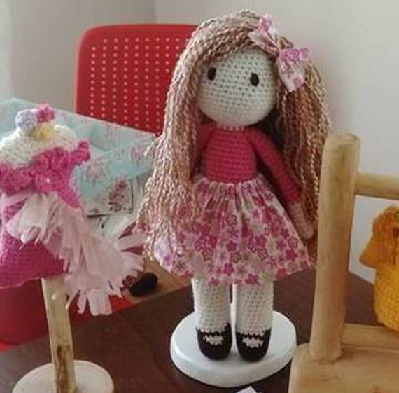 Lepiska the crochet doll
