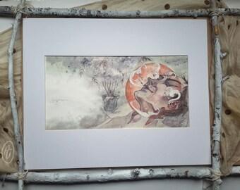 Rose Elf II - Original Painting