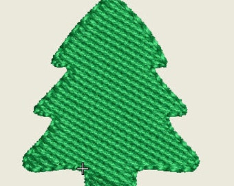 Christmas Tree Mini Design (Buttons) Machine Embroidery File Instant Downlaod