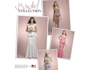 Simplicity Sewing Pattern 8164 Misses' Two Piece Special Occasion Dress