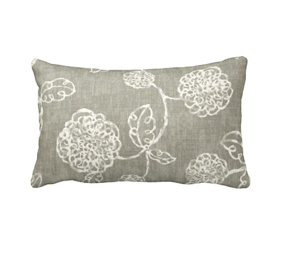 Throw Pillows For Taupe Sofa : Taupe Throw Pillow Cover Taupe Pillow Cover Taupe Floral