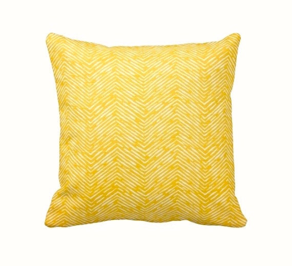 Dimensions Of Throw Pillow : SALE 30% OFF: Throw Pillow Cover Decorative Pillow Yellow