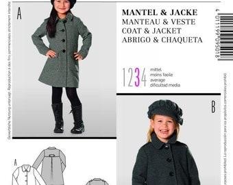 Burda Pattern 9501 Children's Coat and Jacket