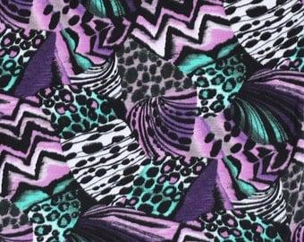 Anti-Pill Skin Patch Purple Anti-Pill Fleece Fabric