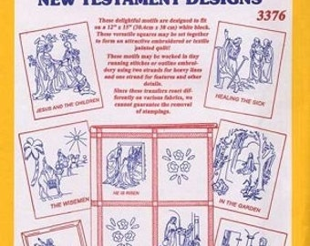 Aunt Martha Transfer Pattern Collections New Testament Motifs