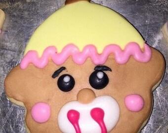 1 Dozen Baby Shower Cookies