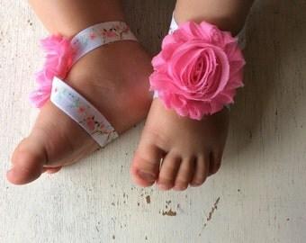 Barefoot sandals; baby barefoot sandals; antler pink sandal; toddler barefoot sandal; sandal