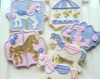 1 dozen carousel cookies!
