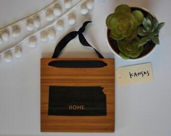 KANSAS//Bamboo State Sign
