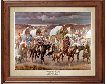 Trail of Tears; 16x20 print