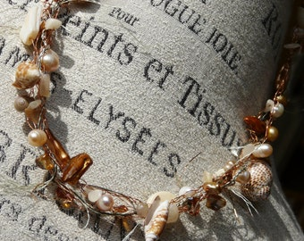 Bronze Seaside Necklace