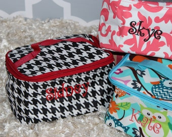 Cosmetic Bags--Perfect for your summer get away!/ Bridesmaids/ Teachers/ Best Friend Gift!