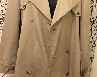 Christian Dior trench coat size 14