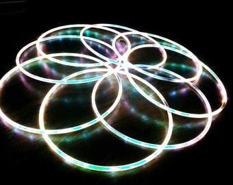 Sparklite LED Hula Hoop (Moonstone Taped)