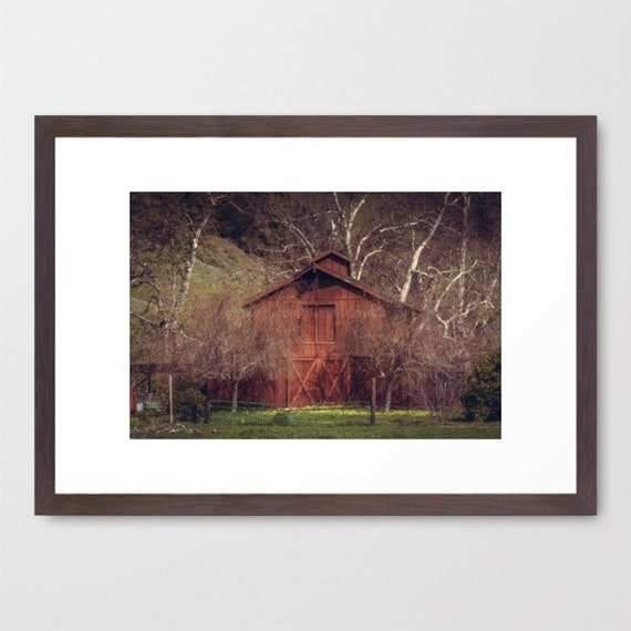 rustic red barn photography rustic home decor by arlenecarley