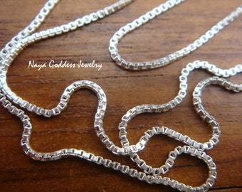 Sterling Silver 30 inch Box Chain 76cm NG-0127