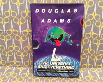 Life The Universe and Everything by Douglas Adams Hardcover Book Hitchhiker Trilogy