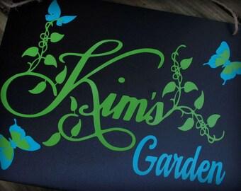 Fairy Garden, Garden, Gardener Gift, Garden Sign, Personalized Garden Sign, Garden Decor, Gardening, Personalized Gardener Gift, Gardener