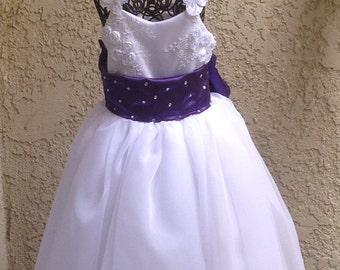 Pageant little girl dress