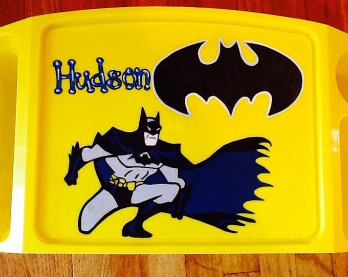 batman tray, batman art tray, batman tv tray, batman game tray, Super hero activity tray, super hero activity tray, super hero lap tray