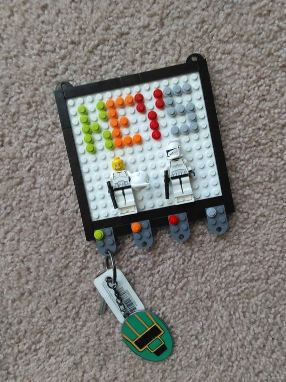 Lego Key Holder With Stormtroopers By Monsterrandom On Etsy