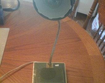 vintage midlands gooseneck lamp radio