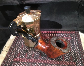 Estate Pipe – Smooth Danish Freehand, Restored