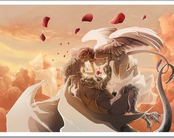 Kiss in the sky | Dracophylia