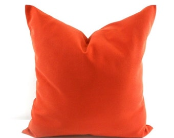 On Sale Cinnamon Pillow Cover. Solid color  Sham Pillow case.Designers pillow, cushion pillow cover. Select your size.