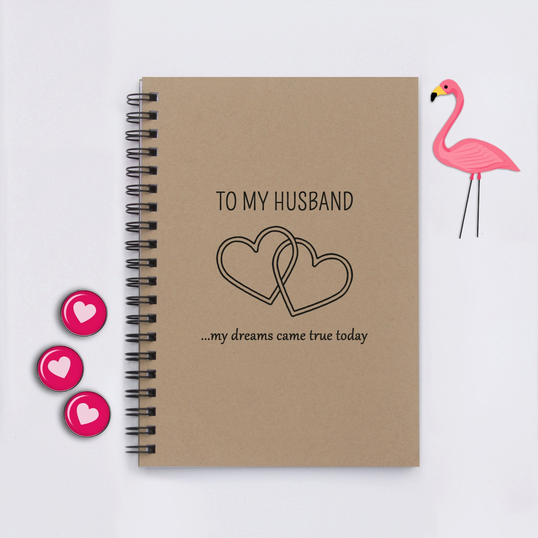 Wedding Gift To Give Husband : Husband wedding gift To My Husband ... My by FlamingoRoadJournals