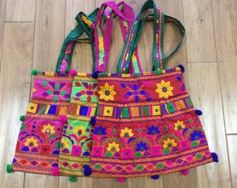Beautiful Ethnic kutch work Tote bag