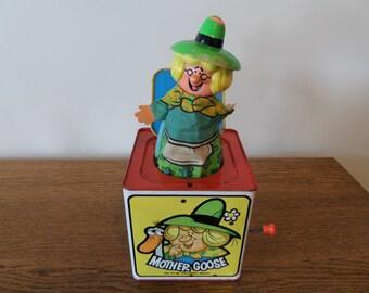 Vintage MATTEL Jack-In-The-Box WORKS!