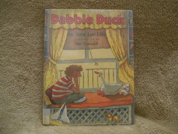 Vintage para niños libro Meten pato Anne Leo por CannadyCreations