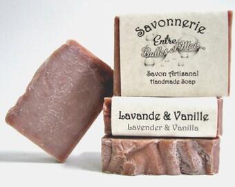 Lavender & vanilla Handmade soap- Gift