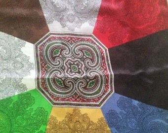 """Imperial Silk Scarf - 19"""" - Made in Italy"""