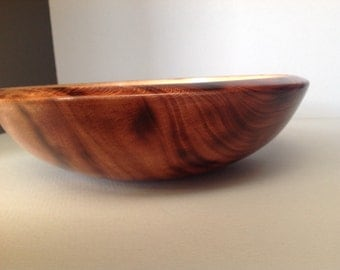 Dyed sycamore salad bowl