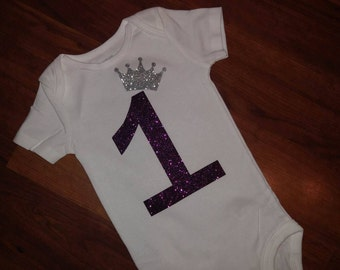 1st Birthday Onesie, Customized Onesie for infant or Toddler, Baby Clothes