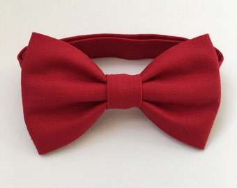 Red Bow Ties - Bow Ties - Children's Bow Ties - Baby Bow Ties - Bow Tie for Baby - Bow Tie For Kids