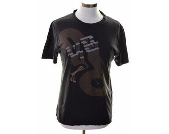 Puma Womens T-Shirt Size 10 Small Black