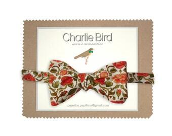 "Flowered bow tie ""Penrose"""