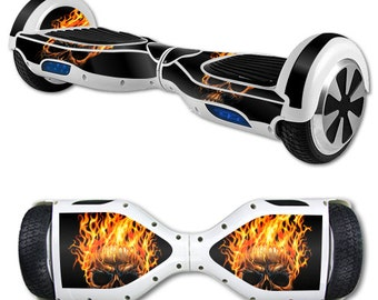 Skin Decal Wrap for Self Balancing Scooter Hoverboard unicycle Hot Head