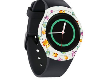 Skin Decal Wrap for Samsung Gear S2, S2 3G, Live, Neo S Smart Watch, Galaxy Gear Fit cover sticker Owls