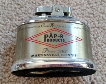 Vintage Pap-R Products promo lighter
