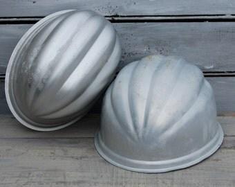 Jello Molds, Wear Ever Molds, Jello Mold Set, Aluminum Mold, Jello Decor, Jello Pans, Baking Decor, Set of Jello Molds, Gelatin Mold